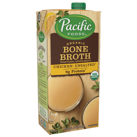 Pacific Foods Organic Chicken Bone Broth, 32 fl