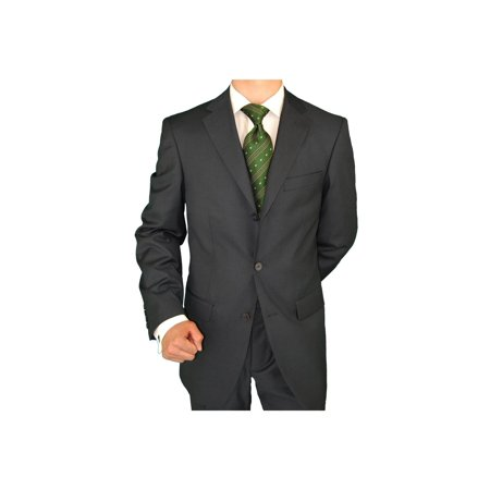 Business Suits Double Side Vent (Men's Suit Three Button Jacket Side Vents Pleated)