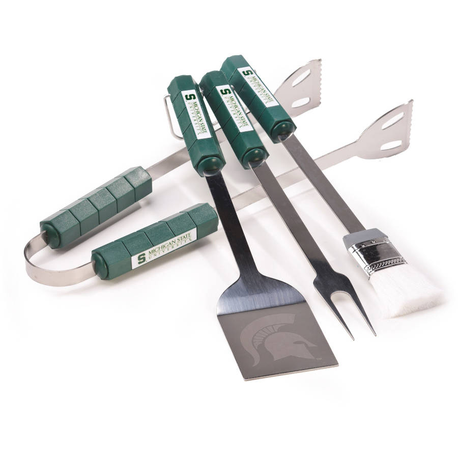 Michigan State Spartans 4-Piece BBQ Set