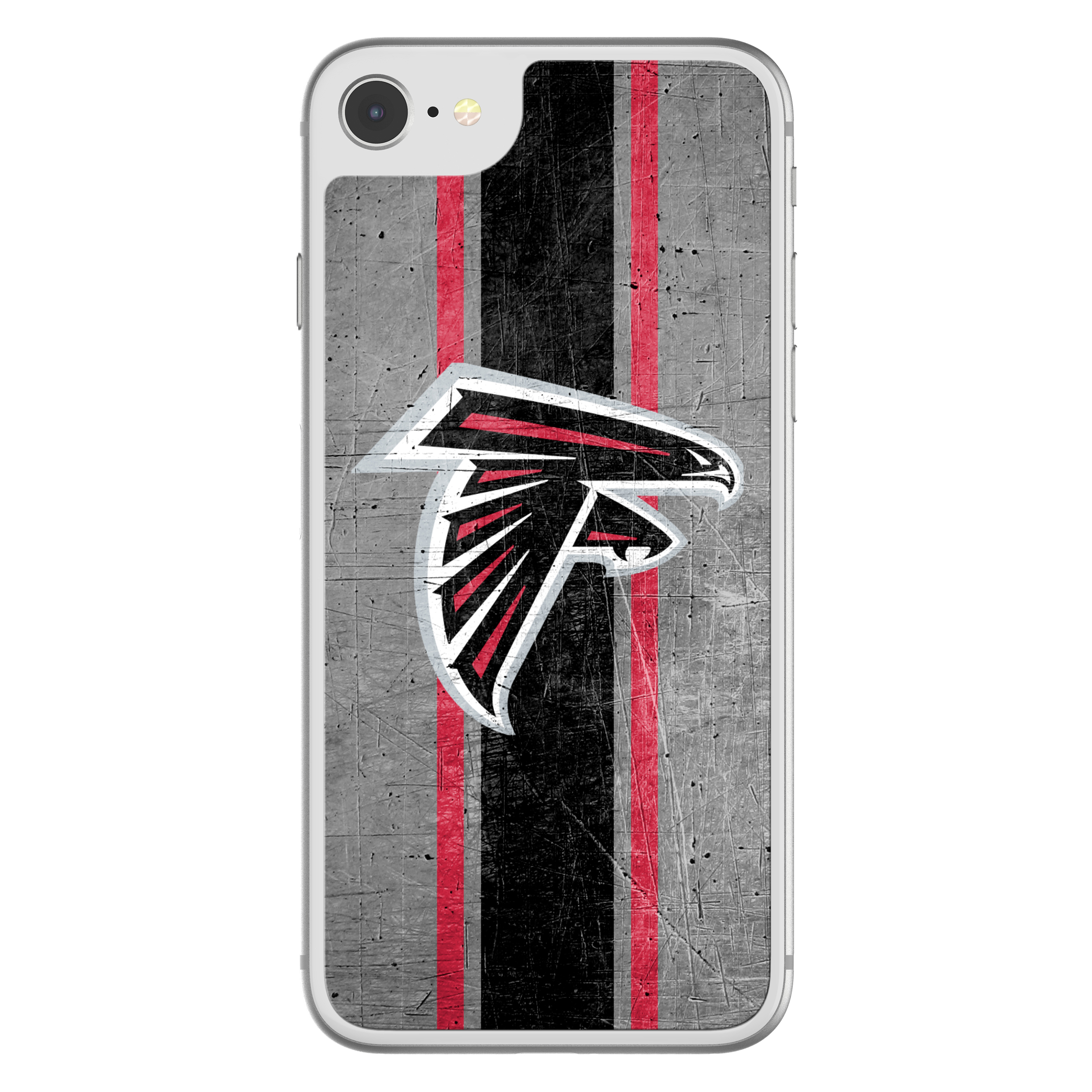 Otterbox NFL Alpha Glass Screen Protector Fortify Your Fandom for iPhone 8, 7, 6s, 6 - Atlanta Falcons