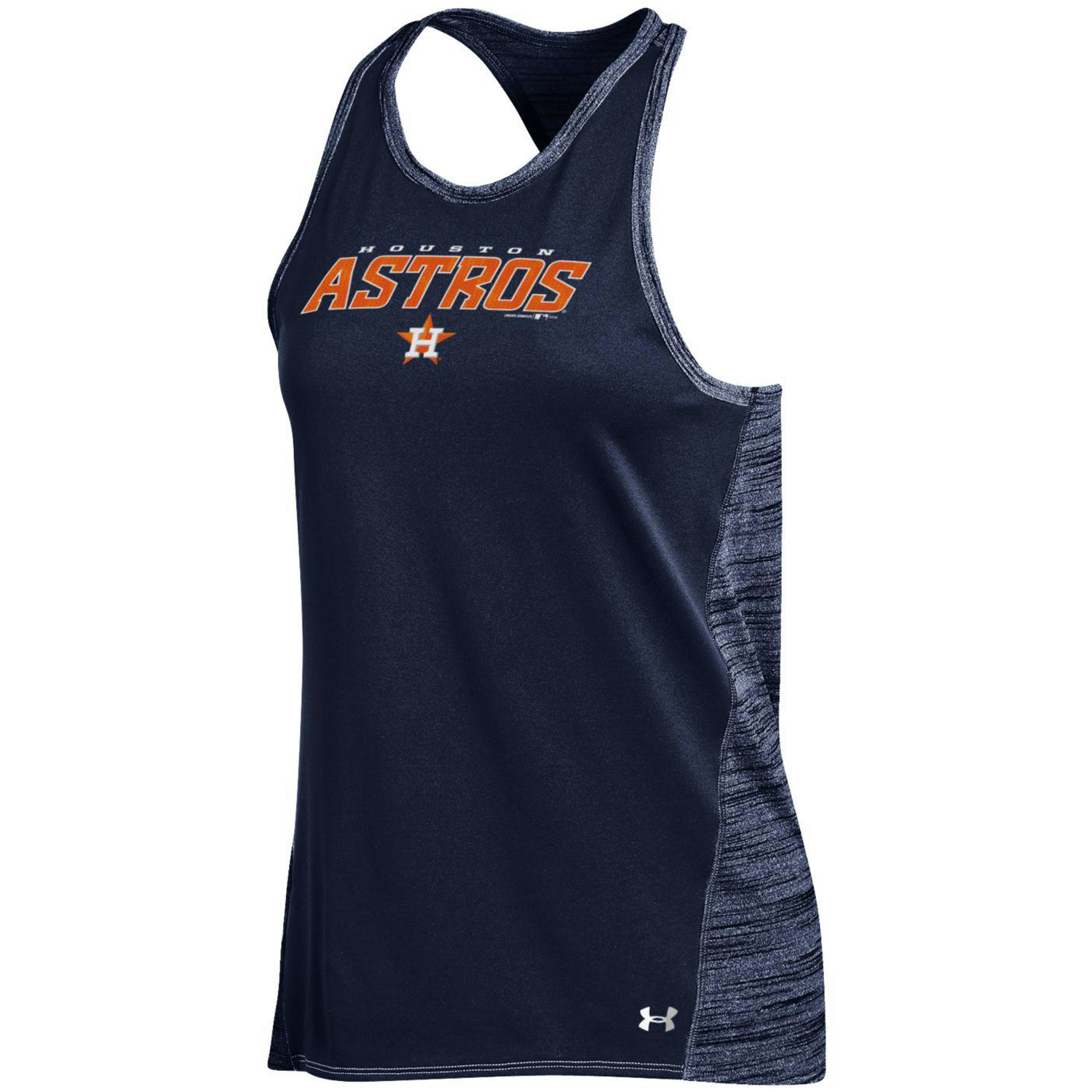 Houston Astros Under Armour Women's Performance Tank Top Navy by Gear For Sports/Under Armour