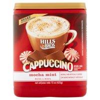 (2 Pack) Hills Bros Drink Mix, Cappucino Mocha Mint, 16 Oz, 1 Count