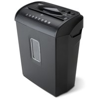 Aurora AU608MB High-Security 6-Sheet Micro-Cut Paper and Credit Card Shredder