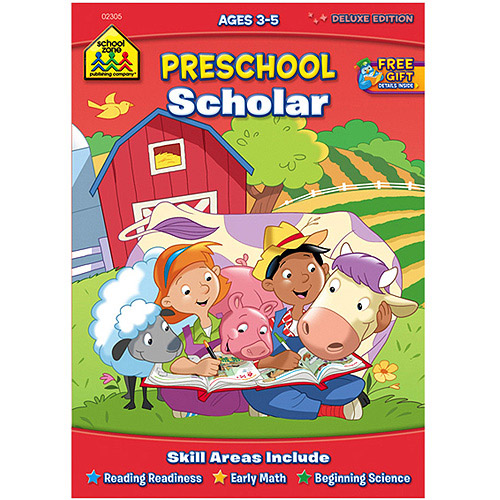 Workbooks Preschool Scholar, Ages 3-5
