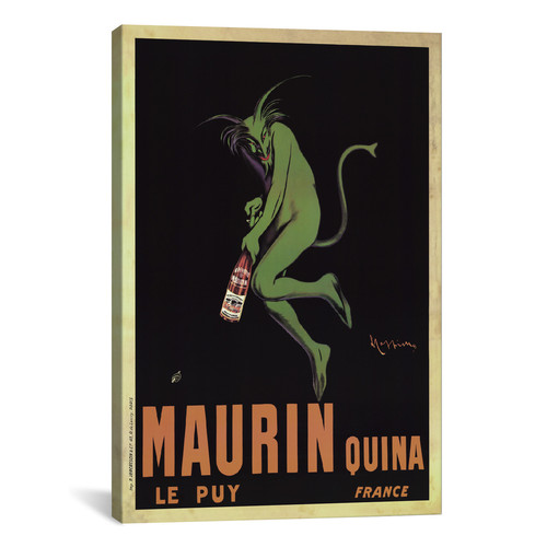 iCanvas Maurin Quina Vintage  Canvas Print Wall Art
