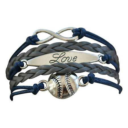Baseball Bracelet or Softball Bracelet - Baseball Jewelry For Girls- Perfect Baseball - Baseball Bracelets