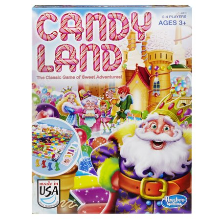Candy Land Classic Board Game, Ages 3 and up - Candyland Gameboard