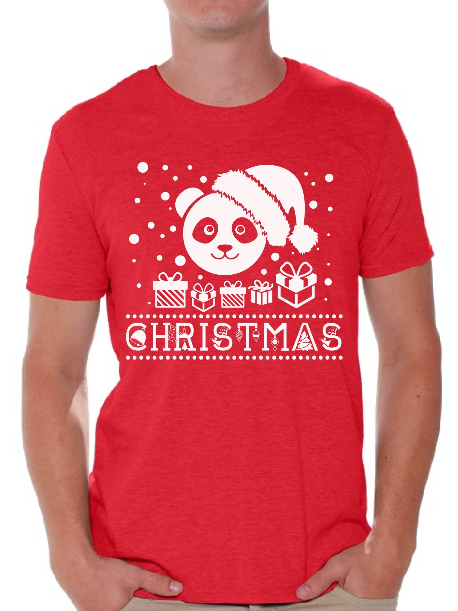 Christmas Mens Kids T Shirt Skull Santa Hat Xmas Gift Novelty Festive T-Shirt