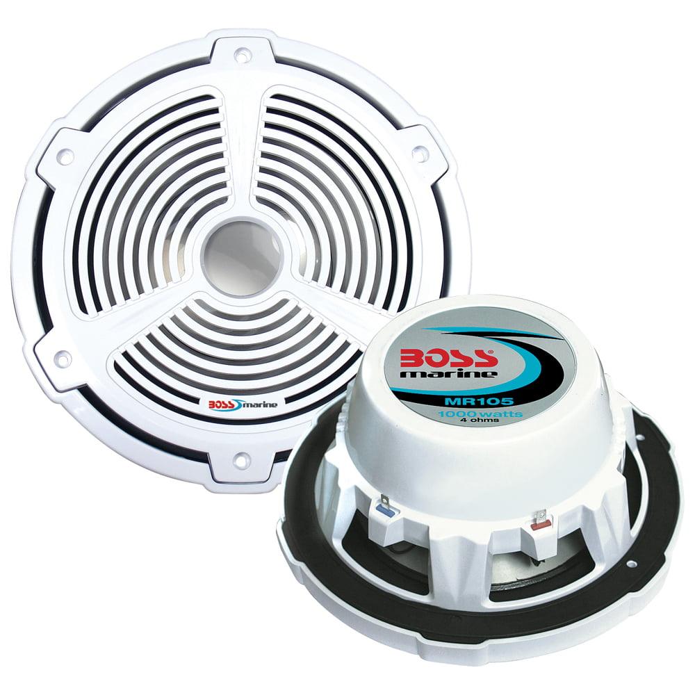 "Boss Audio MR105 - Marine 10"" Subwoofer Single Voice Coil (4 Ohm) 1000W (Each)"