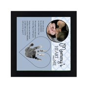 Mommy'S Heart & Me 3.25 In. Photo Frame Designer Jewelry by Sweet Pea