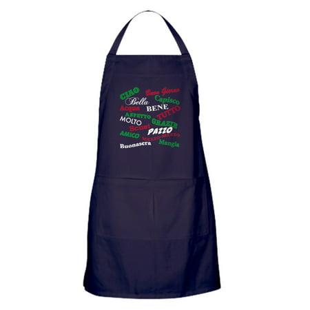 CafePress - Italian Sayings - Kitchen Apron with Pockets, Grilling Apron, Baking Apron - Kitchen Apron Sayings