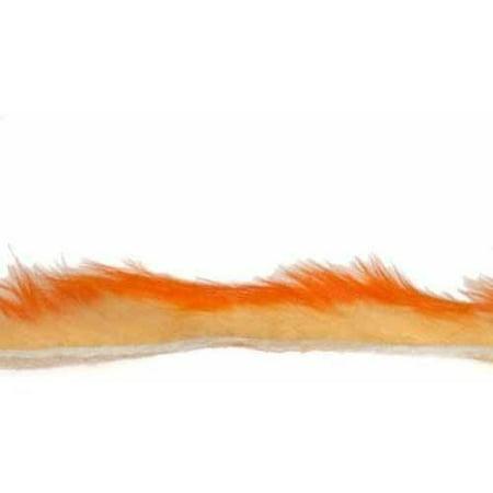 Hareline Two Tone Rabbit Flesh Strips