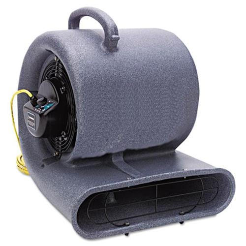 Mercury Floor Machines 1150 Eagle Air Mover, 3-Speed, 1/2hp, 1150rpm, 1500cfm