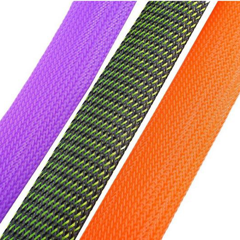 Portable Elastic Braided Buckled Fishing Rod Cover Spinning Rod Protective Gloves 3cm*170cm Color:purple - image 4 of 8