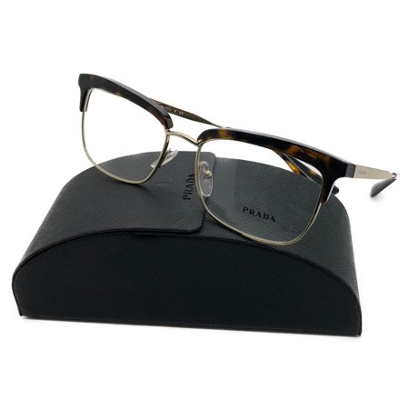 Prada Women's Tortoise Glasses with case VPR 08S 2AU-1O1 (Prada Glasses Case)
