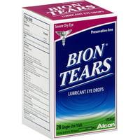 Bion tears lubricant eye drops 28