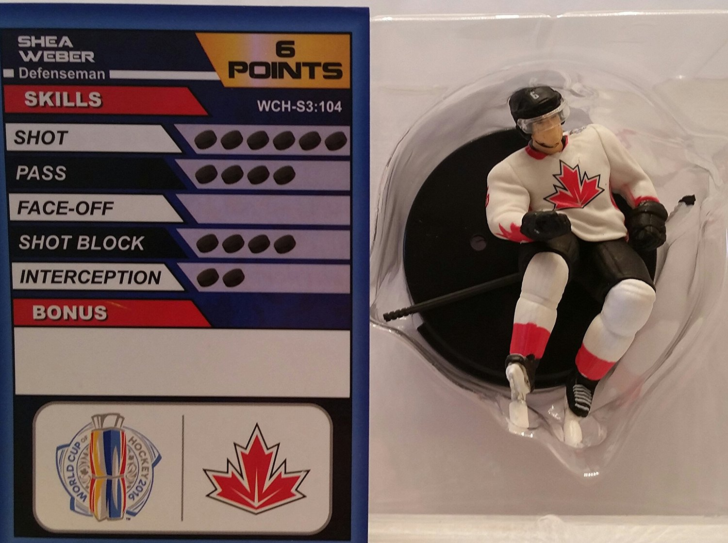 World Cup of Hockey Team Canada Shea Weber (Common) by