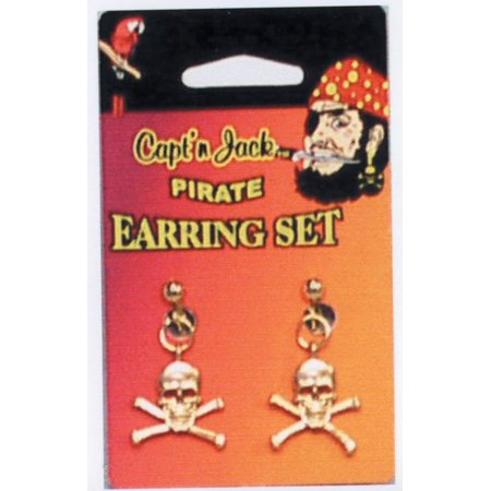 Pirate Earrings For Men (Pirate Earring Set)