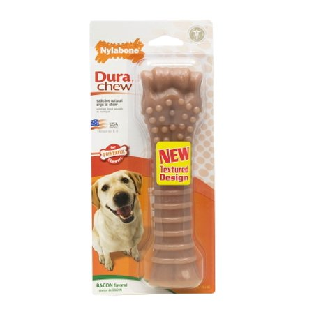 Nylabone Durable Bacon Flavor Bone, Souper, 8