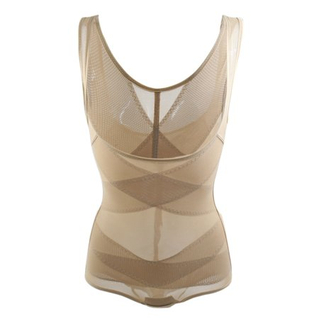 Full Body Shaper Belly Trimmer Waist Cincher Control Bodysuit  - Skin Tone Body Suits