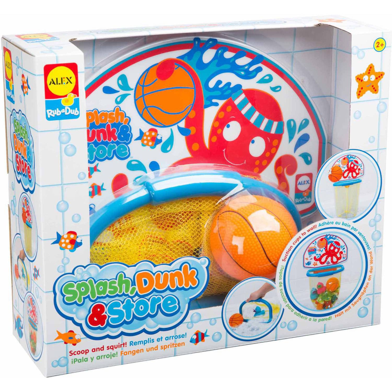Image of ALEX Toys Rub a Dub Splash Dunk & Store