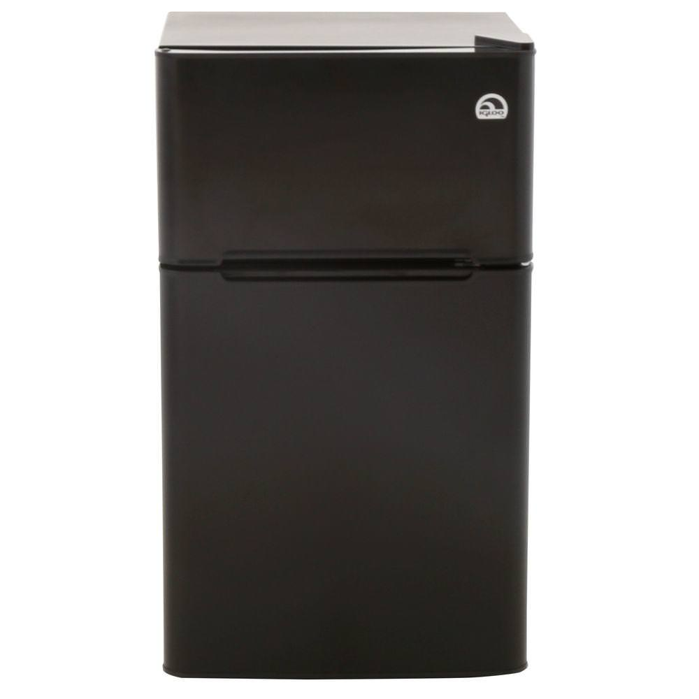 Click here to buy Igloo 3.2 cu ft 2-Door Refrigerator and Freezer by Curtis.