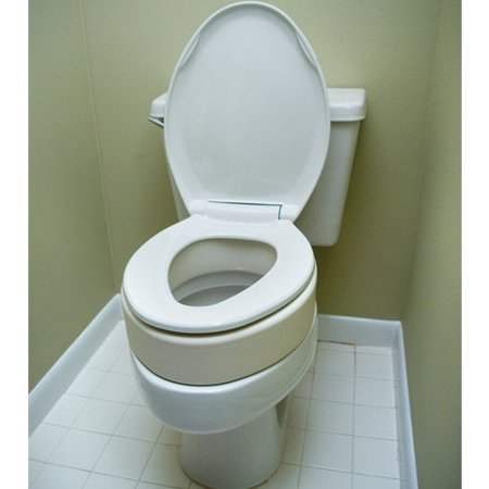 Toilet Seat Riser For Elongated Size Bowl