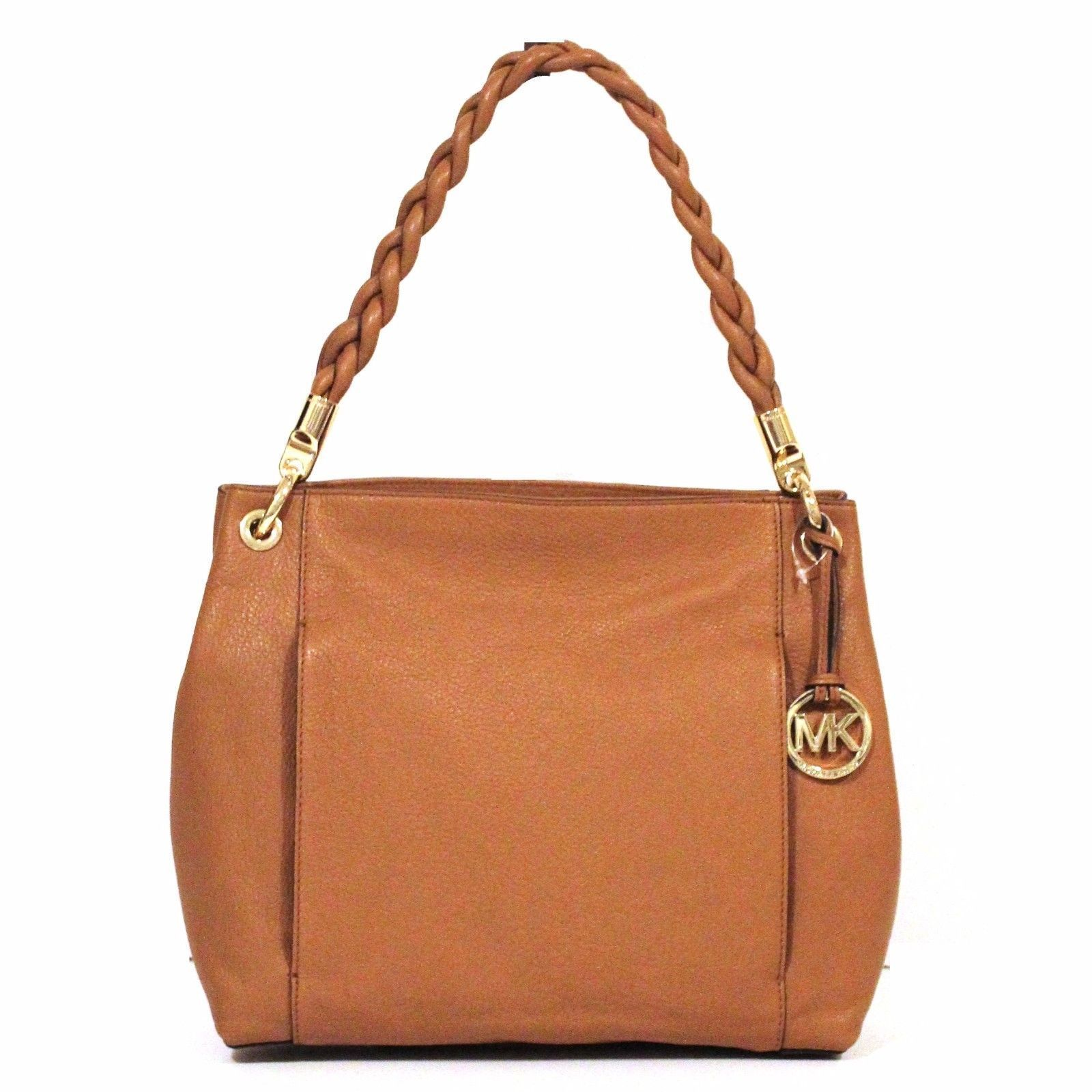 0ef7448419ee8 coupon code for michael michael kors naomi large twist strap tote bag acorn  9081c f2cbc