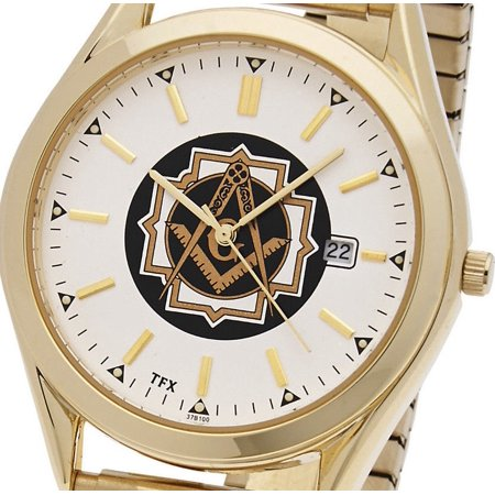 Blue Lodge Masonic Watch - Men's Two Tone TFX by Bulova Masonic Blue Lodge Watch w/ Expansion Bracelet