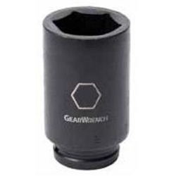 GEARWRENCH 84868 Deep Impact Socket,Dr 6pt,3/4in,1-1/16in G0430057