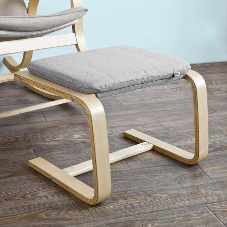 Haotian Fst38 Hg Beech Wood Footstool Footrest With Cushion Foot Leg Rest Com