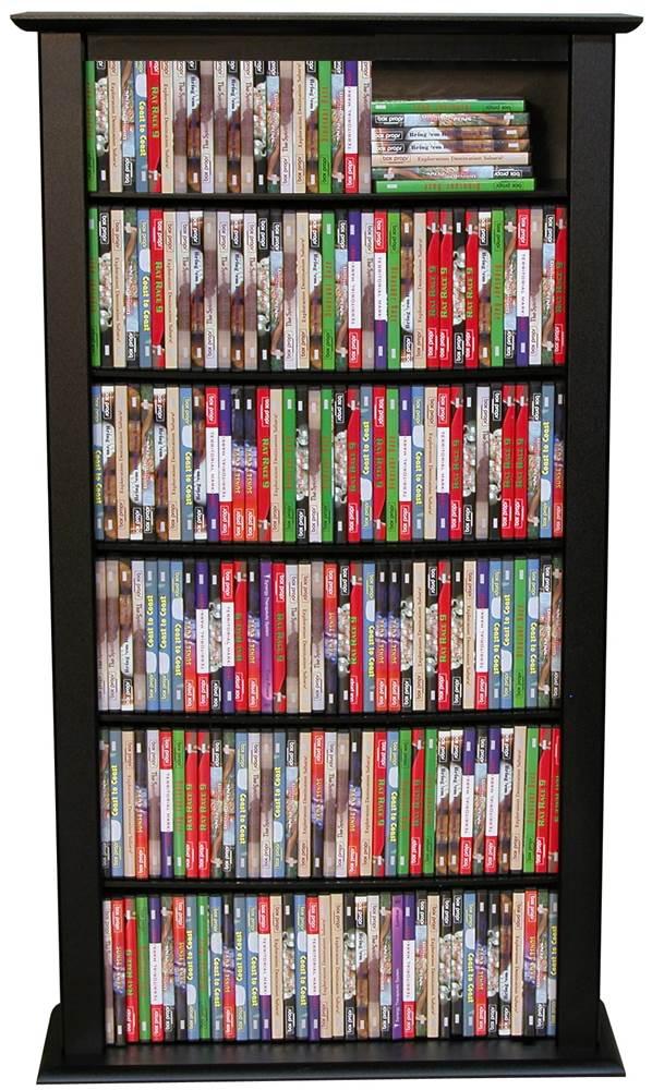 DVD Storage Shelf