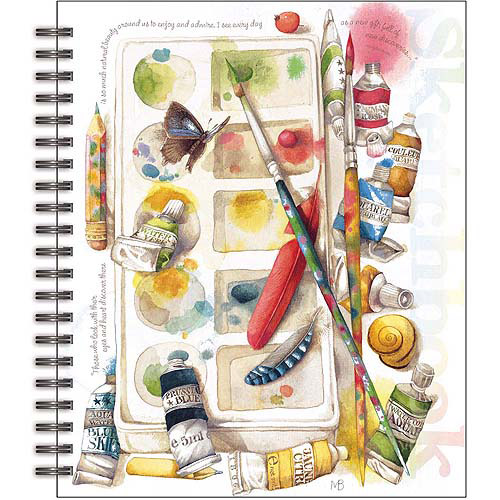 Lang Painterly Spiral Bound Sketchbook