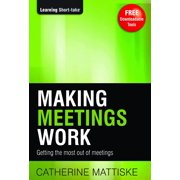 Making Meetings Work - eBook