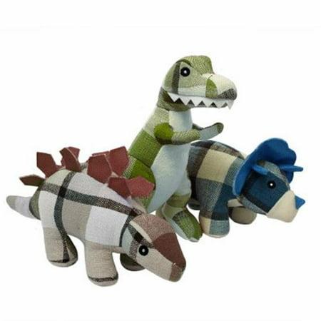 Multipet International 245699 9.5 in. Multipets Plaidosaurus Dog Toy - image 1 de 1