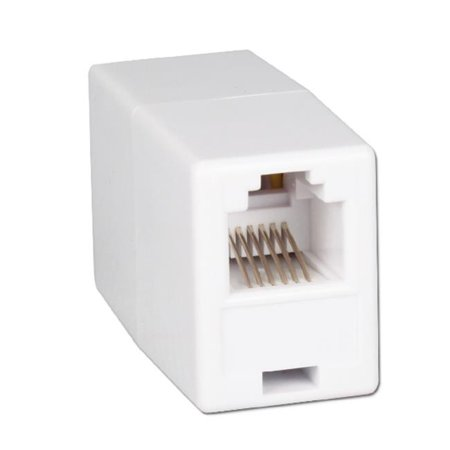 - QVS CC935 Telco RJ12 Female to Female Coupler