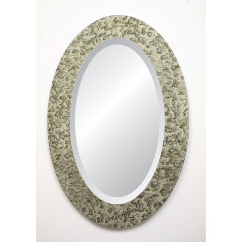 Spancraft Glass Dijon Collection Signature Oval Wall Mirror