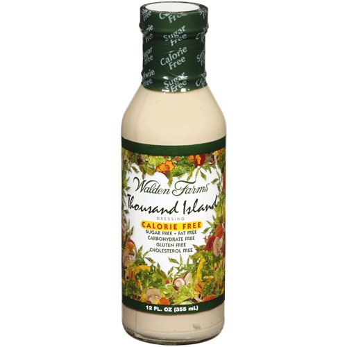 Walden Farms Calorie Free Dressing 10 x 1 oz - Assortment Healthy Salad Sauces - 2 in every Flavor of Ranch, Italian, Creamy Bacon, Thousand Island, and Honey Dijon   Carb-Free Food with Gift Box. by Walden Farms. $ $ 14 99 Prime. out of 5 stars Showing selected results.
