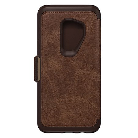 separation shoes 9d58c e3b7f OtterBox Strada Series Folio Case for Galaxy S9 Plus, Espresso