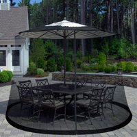 Outdoor Umbrella Screen by Pure Garden