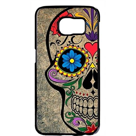 Ganma Sugar Skull Skeleton Mexican Day Hard Plastic Black Case Cover Case For Samsung Galaxy Note 8