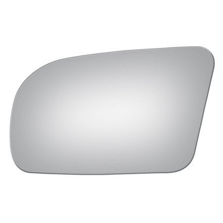 DRIVER SIDE DROP FIT FLAT REPLACEMENT MIRROR GLASS FOR 2009-2014 NISSAN MAXIMA