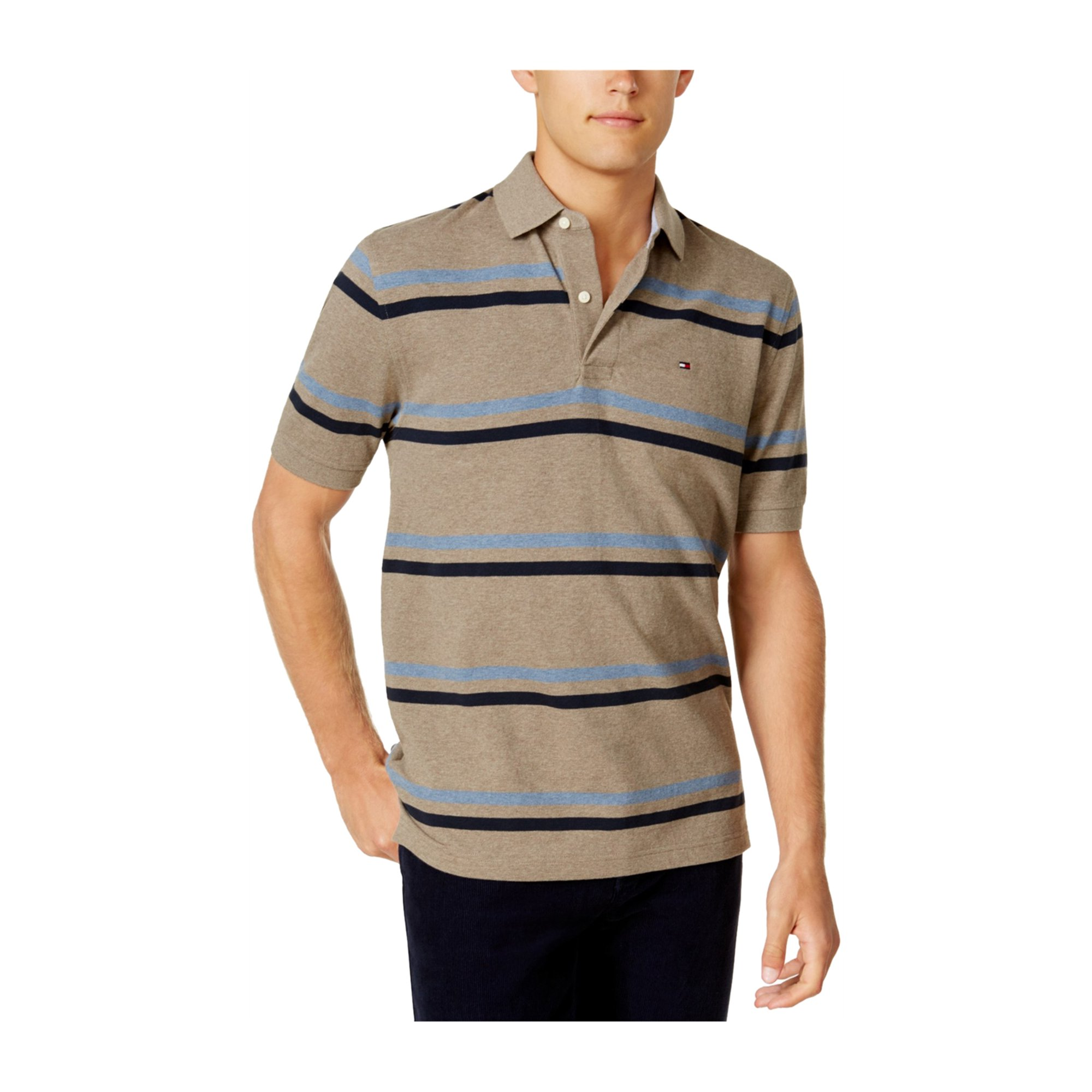 70e8a624 Tommy Hilfiger Mens River Stripe Rugby Polo Shirt 215 XS | Walmart Canada