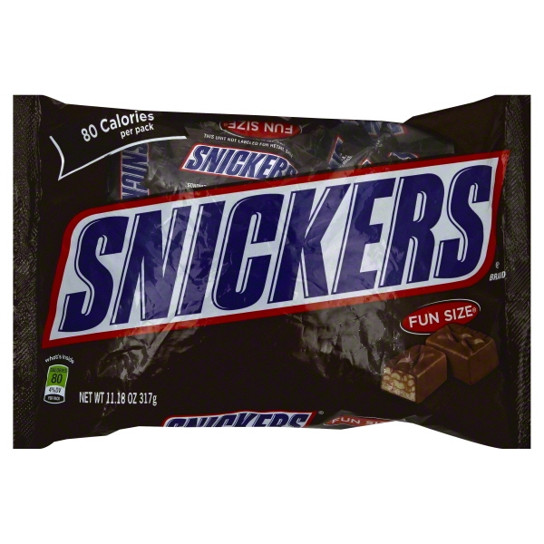 Snickers Fun Size - Walmart.com