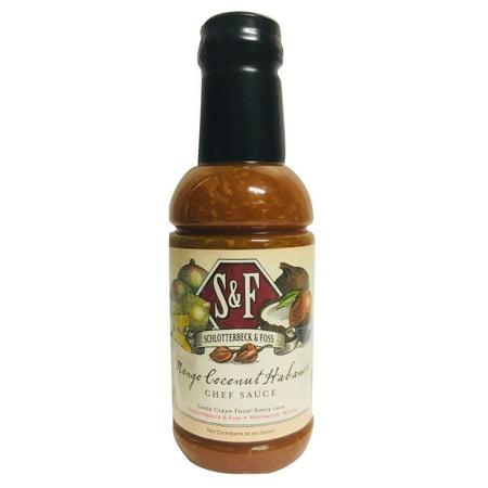 Product of Schlotterbeck & Foss Mango Coconut Habanero Chef Sauce, 30 oz. [Biz Discount] (Chef Sauce)