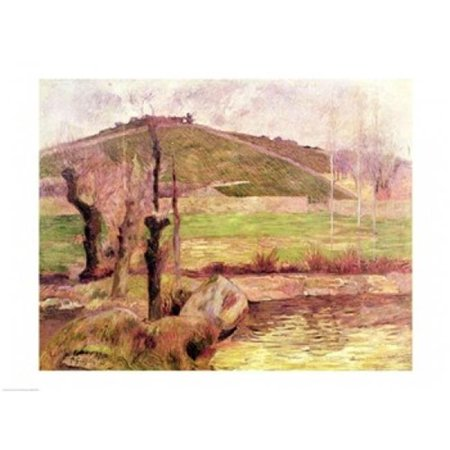 Landscape Near Pont-Aven 1888 Poster Print by Paul Gauguin - 36 x 24 in. - Large - image 1 of 1