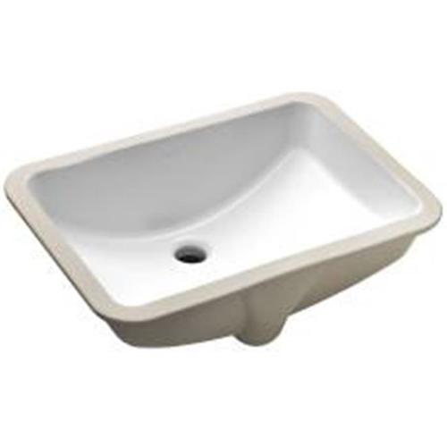 KOHLER LADENA�� UNDERMOUNT BATHROOM SINK WITHOUT FAUCET HOLES, 20-7/8 IN. X 14-3/8 IN. X 8-1/8 IN., WHITE