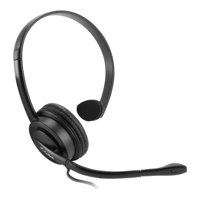 Universal Premium Mono 2.5mm Hands-Free Headset with Boom Microphone for landline phone, cordless phone, office phones, business phones by Cellet (Not for Smartphone)