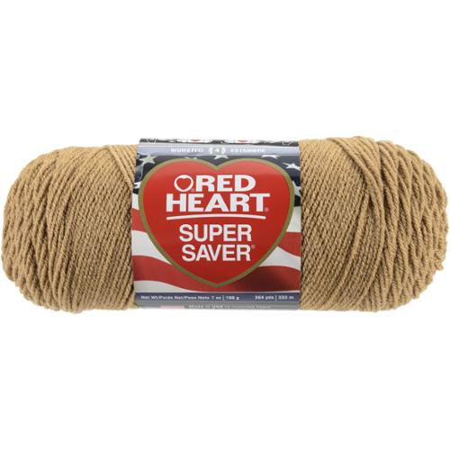Red Heart Super Saver YarnWarm Brown