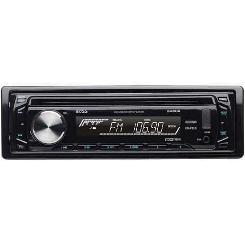 Boss Audio 648UA In-Dash Single DIN CD/MP3 Receiver